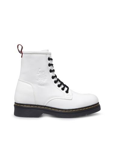 U.S. Polo Assn. Kadın Bot Polet 100551410 Beyaz